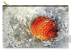 Seashell Art  Carry-all Pouch by HH Photography of Florida
