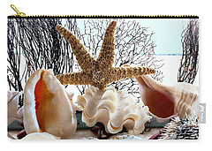 Seashell Galore Carry-all Pouch