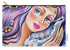 Seashell Reverie Carry-all Pouch
