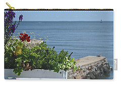 Seaside Flower Box Carry-all Pouch