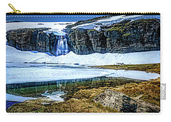 Carry-all Pouch featuring the photograph Seasonal Worker by Dmytro Korol