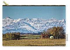 Carry-all Pouch featuring the photograph Season's End by Brad Allen Fine Art