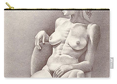 Seated Figure No. 6 Carry-all Pouch