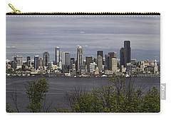 Seattle At Its Best Carry-all Pouch by James Heckt