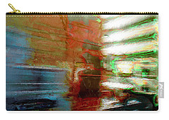 Carry-all Pouch featuring the photograph Seattle By Train by Lori Seaman