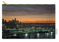 Seattle Early Morning Sunrise Panorama Carry-all Pouch