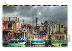 Seattle Houseboats Fine Art Photograph Carry-all Pouch