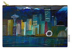 Seattle Skyiline Carry-all Pouch