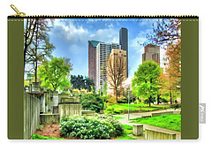 Seattle Spring Fine Art Print Carry-all Pouch