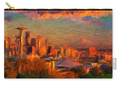 Seattle Sunset 1 Carry-all Pouch