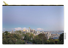 Seattle Washington City Skyline And Puget Sound View Carry-all Pouch