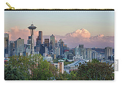 Seattle Washington City Skyline At Sunset Carry-all Pouch