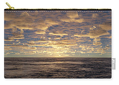 Carry-all Pouch featuring the photograph Seaview by Mark Greenberg