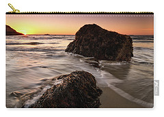 Seaweed Singing Beach Carry-all Pouch