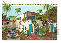 Secluded Paradise Carry-all Pouch