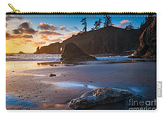 Second Beach Sunset Carry-all Pouch