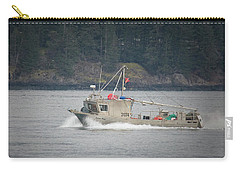 Carry-all Pouch featuring the photograph Second Wind by Randy Hall