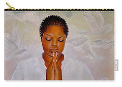 Carry-all Pouch featuring the painting Secret Closet by Christopher Marion Thomas