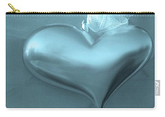 Carry-all Pouch featuring the photograph Secret Heart by Juergen Weiss