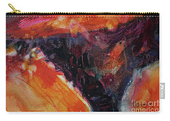 Carry-all Pouch featuring the painting Secret Hideaway by Kathy Braud