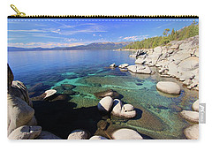 Carry-all Pouch featuring the photograph Secrets Of Her Soul by Sean Sarsfield
