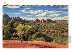 Sedona Afternoon Carry-all Pouch by James Eddy