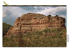 Carry-all Pouch featuring the photograph Sedona Arizona by Anne Rodkin
