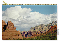 Carry-all Pouch featuring the photograph Sedona Arizona by Bill Gallagher