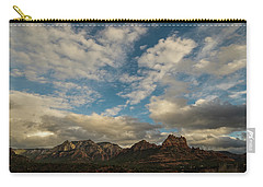 Sedona Arizona Redrock Country Landscape Fx1 Carry-all Pouch by David Haskett
