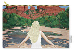 Sedona Breeze  Carry-all Pouch by Lance Headlee