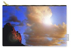 Sedona Mountain Cloud Sun Carry-all Pouch