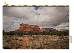 Sedona National Park Arizona Red Rock 2 Carry-all Pouch by David Haskett