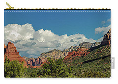 Carry-all Pouch featuring the photograph Sedona Panoramic II by Bill Gallagher