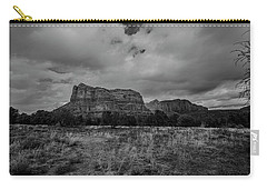 Sedona Red Rock Country Arizona Bnw 0177 Carry-all Pouch by David Haskett