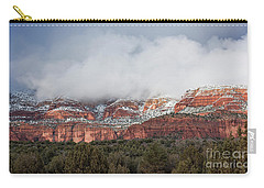 Carry-all Pouch featuring the photograph Sedona Revealed by Sandra Bronstein