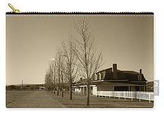 Carry-all Pouch featuring the photograph Sedona Series - Alley by Ben and Raisa Gertsberg