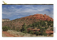 Carry-all Pouch featuring the photograph Sedona Trails by Glenn DiPaola