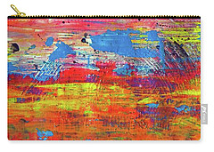 Carry-all Pouch featuring the painting Sedona Trip by Everette McMahan jr