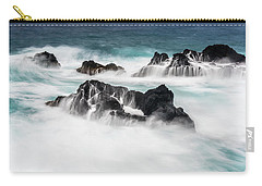 Carry-all Pouch featuring the photograph Seduced By Waves by Jon Glaser