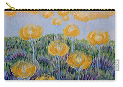 Carry-all Pouch featuring the painting Seeing Through by Holly Carmichael