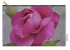 Carry-all Pouch featuring the photograph Seek Me With All Your Heart by Kate Word