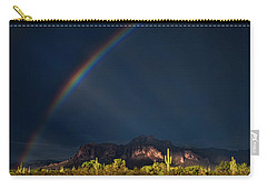 Carry-all Pouch featuring the photograph Seeking That Pot Of Gold  by Saija Lehtonen