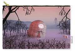 Carry-all Pouch featuring the digital art Seeking The Dying Light Of Wisdom by John Alexander
