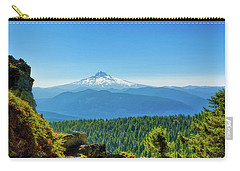 Mt Hood Seen From Beyond Carry-all Pouch