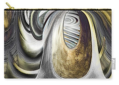 Carry-all Pouch featuring the digital art Seen In Stone by Wendy J St Christopher