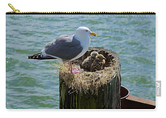 Seagull Family Carry-all Pouch
