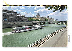 River Seine In Paris Carry-all Pouch