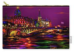 Seine, Paris Carry-all Pouch by DC Langer