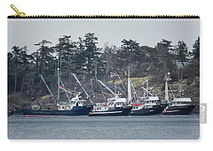 Carry-all Pouch featuring the photograph Seiners In Nw Bay by Randy Hall