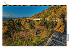 Seize The Day At Linn Cove Viaduct Autumn Carry-all Pouch